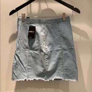 Forever 21: Light Denim Skirt